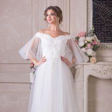 Фатиновые свадебные платья