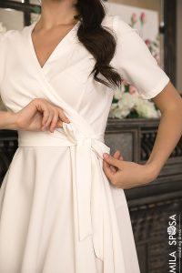 Короткое свадебное платье Amber